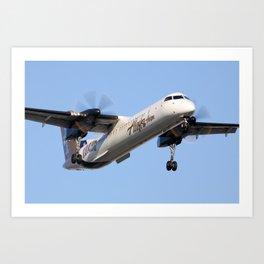 "Horizon Q400 ""Idaho"" livery Art Print"