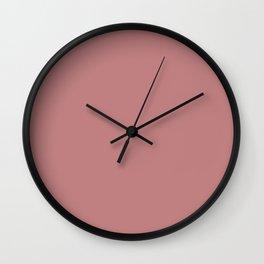Old rose Wall Clock