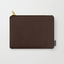 Root beer - solid color Carry-All Pouch