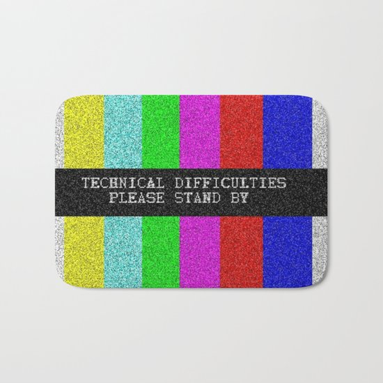 Technical Difficulties Bath Mat
