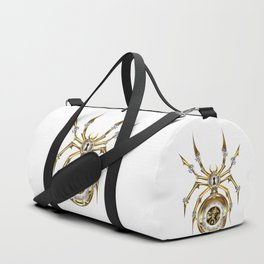 Spider with Clock ( Steampunk ) Duffle Bag