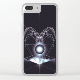 Heart of the Machine Clear iPhone Case
