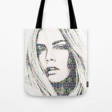 Cara Delevigne Tote Bag