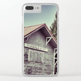 Whistle Clear iPhone Case