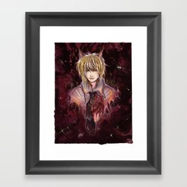 foris to heart Framed Art Print