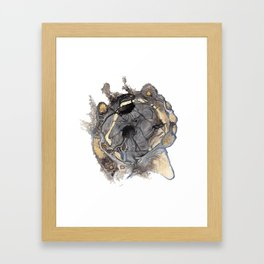Weeping Heart Framed Art Print