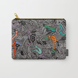 Kamasutra LOVE Doodle - Retro Colors 1 Carry-All Pouch