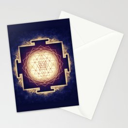 Sri Yantra IX Stationery Cards