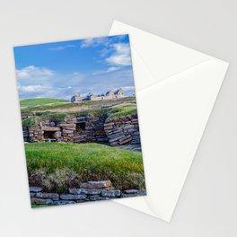 Skara Brae, Orkney, Scotland. Stationery Cards