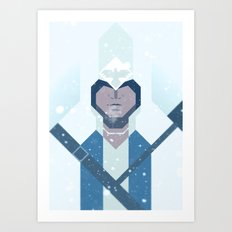 Connor / Assassins Creed Art Print