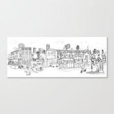 Street Britain Canvas Print