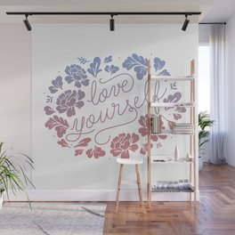 Love yourself color Wall Mural