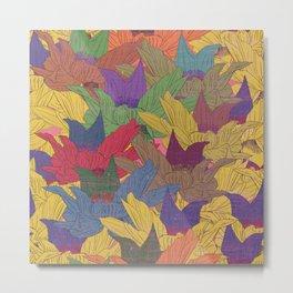 Autumn flowers Metal Print