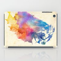 grey iPad Cases featuring Sunny Leo   by Robert Farkas