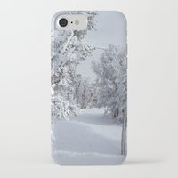 snow iPhone & iPod Cases featuring Snow by Chris Root