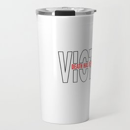 Death has been swallowed up...(IN)...VICTORY r/w Travel Mug