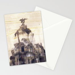 Metropolis building, Madrid Stationery Cards