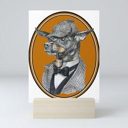 Min-Pin Holmes Mini Art Print
