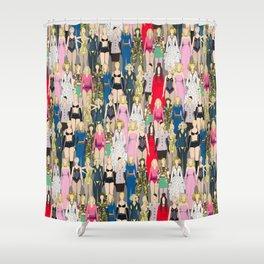 Madonna-A-Thon Shower Curtain
