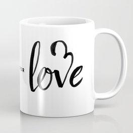 Vote for Love Coffee Mug