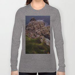 View From The Minack Theatre, Porthcurno, Cornwall, England, United Kingdom Long Sleeve T-shirt