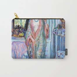 13,000px,600dpi-Frederick Carl Frieseke - The Robe - Digital Remastered Edition Carry-All Pouch