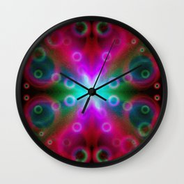 Bubbles Bokeh Effect G122 Wall Clock