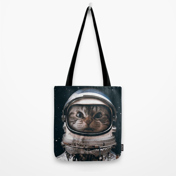 Space catet Tote Bag