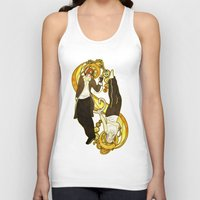 ying yang Tank Tops featuring Ying Yang by Alya Fenume