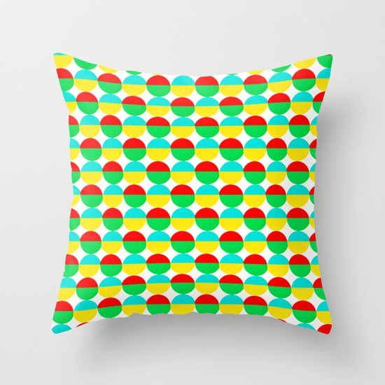 Van Abbe Pattern Throw Pillow
