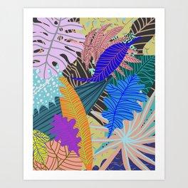 Lush Leaves 2 Kunstdrucke