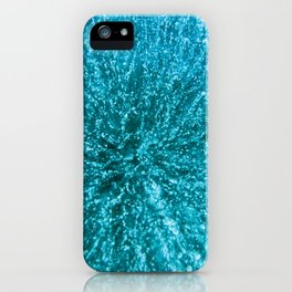 Baikal ice texture iPhone Case