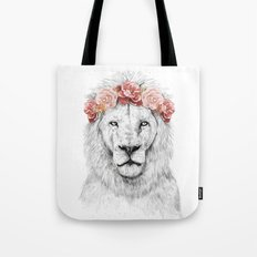 Festival lion Tote Bag