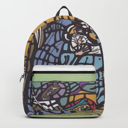 Stained Glass - Nativity Backpack