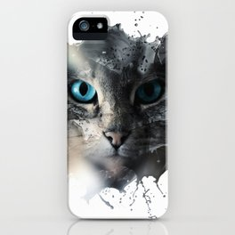 Cat Splash iPhone Case