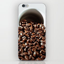 coffee pleasure iPhone Skin