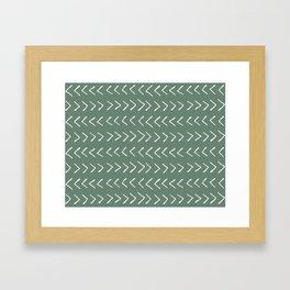 Arrows on Laurel Framed Art Print