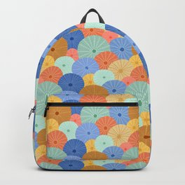Colorful Sea Urchins Backpack