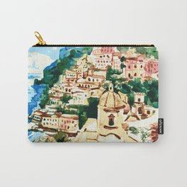 Positano Amalfi Coast Italy Carry-All Pouch