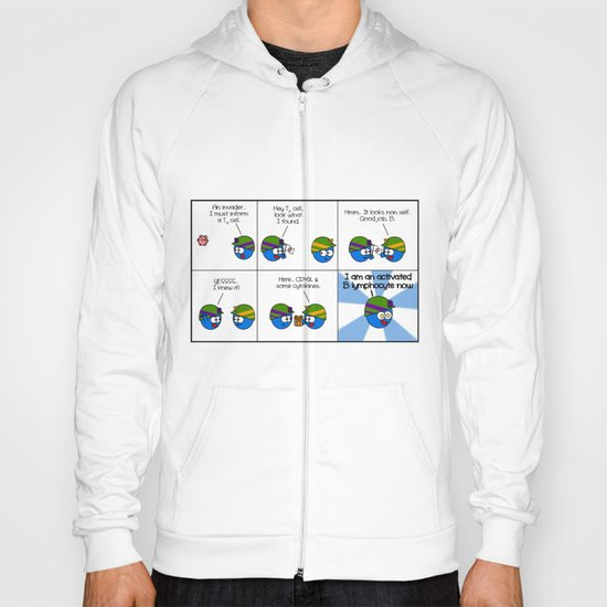 Activated lymphocyte Hoody