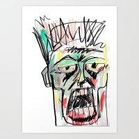 Dead Heads Art Print