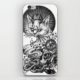 Satan cat iPhone Skin