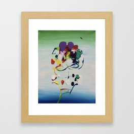 What Are We Made Of Framed Art Print