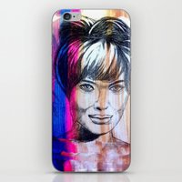 angelina jolie iPhone & iPod Skins featuring Angelina Jolie by Pablo Moitzheim