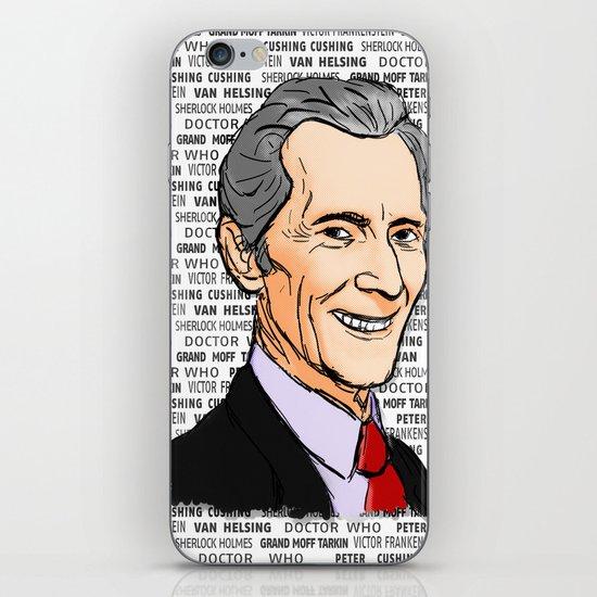 Peter Cushing iPhone & iPod Skin