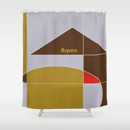 Aspen Mosaic Shower Curtain