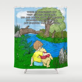 Timeless wisdom Shower Curtain