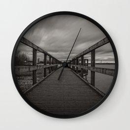 Chasewater Broadwalk Mono Wall Clock