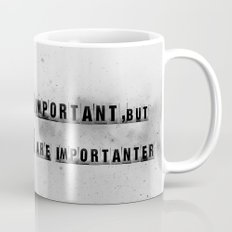 education is importanter Mug