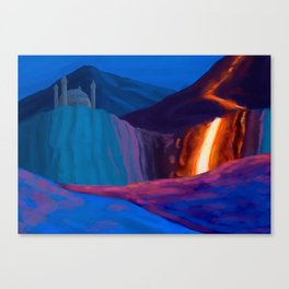Fantasy Landscape 01 Canvas Print